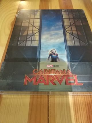 Capitana Marvel steelbook