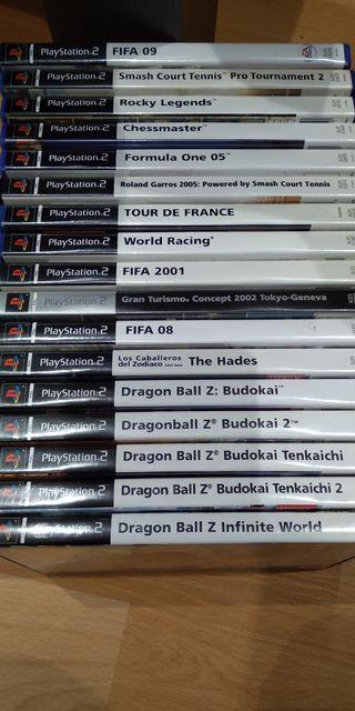 lote 17 juegos PS2