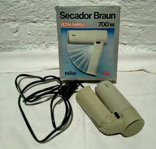 secador Braun vintage