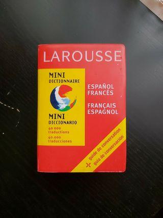 Mini diccionario larousse español francés