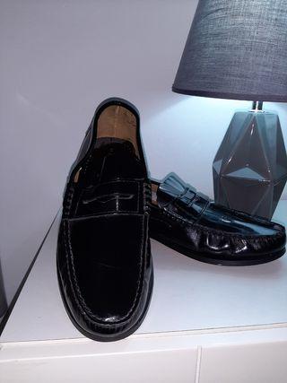vendo zapatos de piel fabricado en Espalla