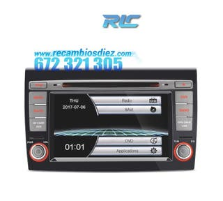"RADIO NAVEGADOR 7"" FIAT BRAVO 07-14 USB GPS TACTIL"