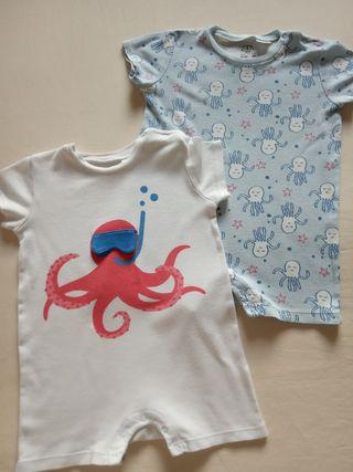 Pijamas de verano niñ@ Zara