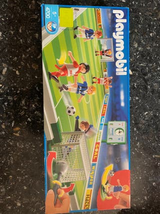 Campo de fútbol Playmobil