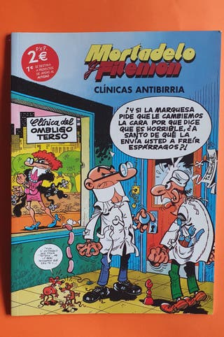 Tebeos Mortadelo y Filemon