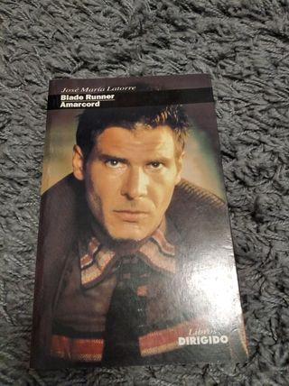 """Libro """"Dirigido Por"""" - Blade Runner y Amarcord."""