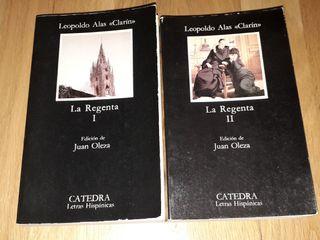 Libros La Regenta I y II