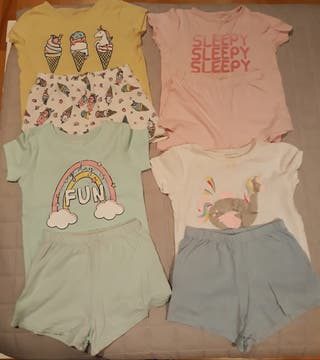 lote pijamas niña