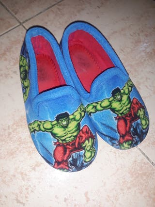 zapatillas de casa talla 25