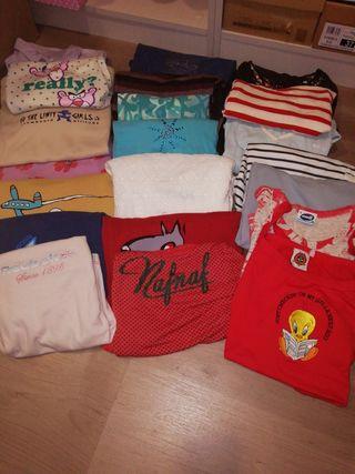 Lote más de 20 camisetas de mujer