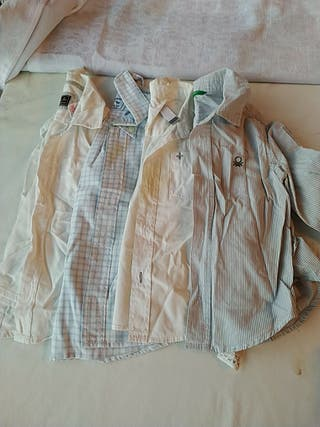 Camisas manga largar 18-24 meses