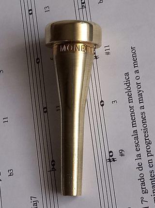 Boquilla Monette para Trompeta