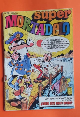 Tebeos Mortadelo y Filemon de los 80/90