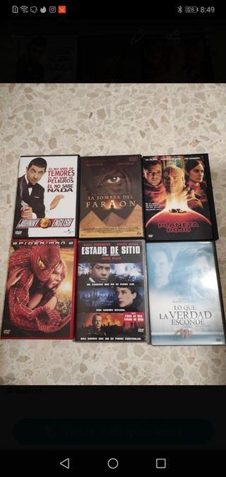 DVD de peliculas