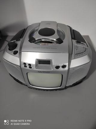 Reproductor CD y radio