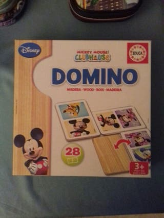 Domino madera Disney