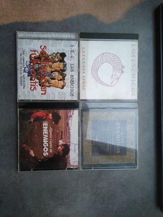 4 cds de los enemigos