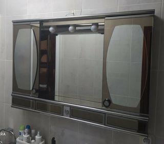 Armario espejo ARESLUX baño