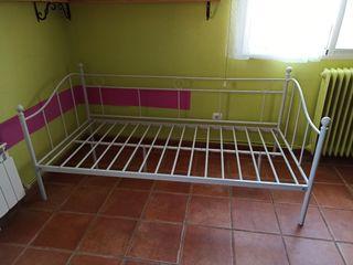 Estructura cama de forja cama de 90 x 1'90