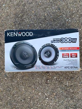 Altavoces kenwood KFC-S1766