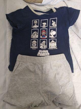 pijama verano niño