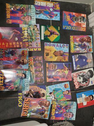 Postales Barça 90s