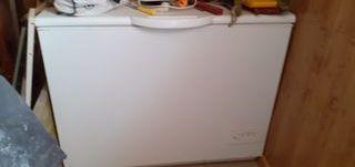 Arcón congelador horizontal Zanussi A+