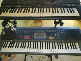 Teclado yamaha + teclado Casio + Soporte para 2