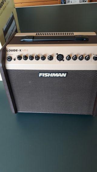 amplificador de guitarra fishman
