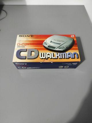 CD walkman D-C21