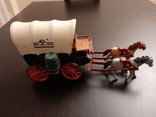 Caravana con bandidos Playmobil
