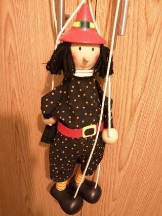marioneta de mago