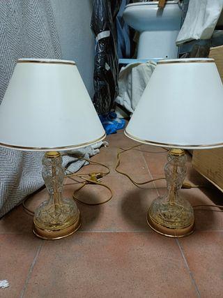 Lámparas de crital