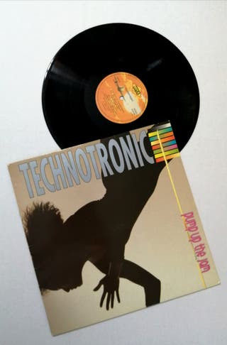 TECHNOTRONIC Disco vinilo