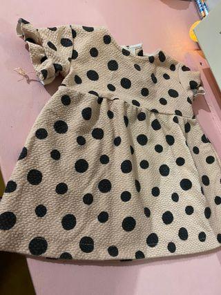 Vestido Zara talla 3/6 meses