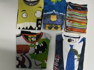 Camisetas desigual talla 9 - 10