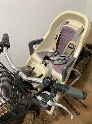 Portabebé bicicleta