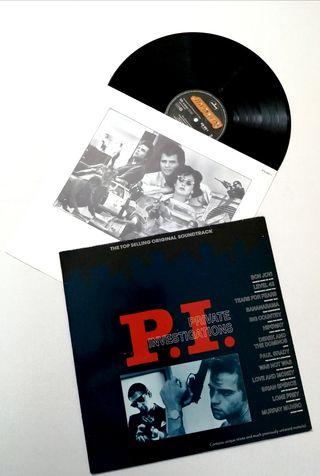 P. I. PRIVATE INVESTIGATIONS Disco vinilo