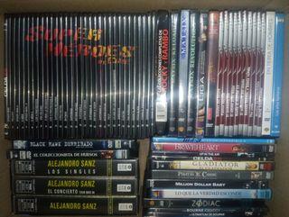 Peliculas 67 DVD + 5 VHS