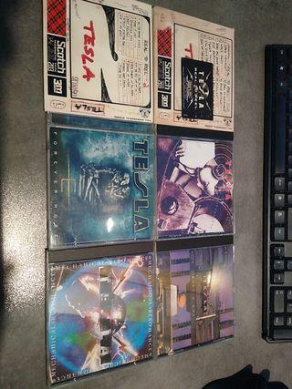 pack CDs de Tesla