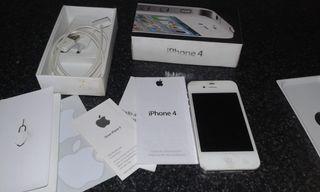 Iphone 4 (como NUEVO,en su CAJA y accesorios)LIBRE