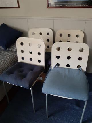 4 Sillas Ikea