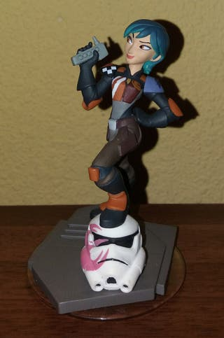 FIGURA DISNEY INFINITY STAR WARS SABINE. REBELS.