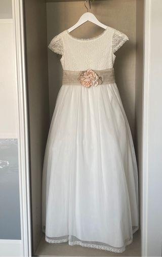 Vestido Comunión Niña Tizzas | Darlene Blanco