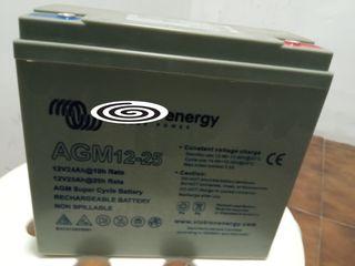 dos baterías recargables