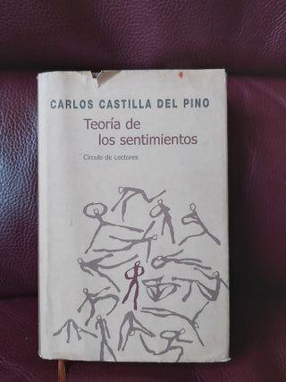 Libro La teoría de los sentimientos,Carlos Castill