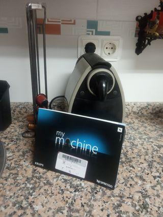 cafetera Nespresso automática krups
