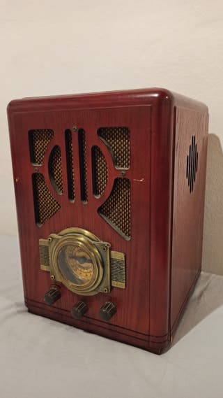 Radio antigua imitación