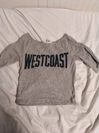 Camisa/Top gris