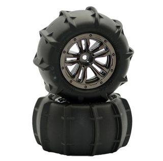 ruedas arena para coche teledirigido de 85mm